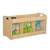 "<strong>Wood Designs</strong> Natural Environment See-All Toddler 12"" Book Display"