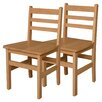 "Wood Designs 18"" Wood Classroom Glides Chair (Set of 2)"
