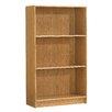 "Home Star 3-Shelf 48.25"" Bookcase"