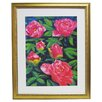 <strong>Premier Blooming Peony II Framed Painting Print</strong> by Alpine Art and Mirror