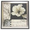<strong>Alpine Art and Mirror</strong> Soft Floral I Framed Graphic Art