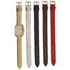 <strong>Vernier</strong> Women's Watch with Interchangeable Straps
