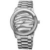 <strong>Vernier</strong> Women's Zebra Glitter Dial Watch