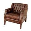 White x White Daniel Leather Chair