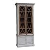White x White Grayson Vitrine China Cabinet