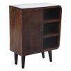 Coast to Coast Imports LLC 1 Door 3 Shelf Cabinet