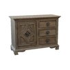 Coast to Coast Imports LLC 1 Door 3 Drawer Cabinet