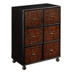 Coast to Coast Imports LLC HIghlands Russet 6 Drawer Chest