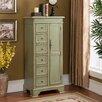Coast to Coast Imports LLC 6 Drawer 1 Door Cabinet