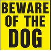 <strong>Hy-Ko</strong> Beware of Dog Sign