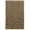 Tommy Bahama Home Tommy Bahama Maddox Brown / Blue Geometric Rug