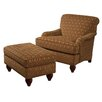 <strong>Tommy Bahama Home</strong> Regatta Chair and Ottoman