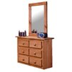 <strong>Chelsea Home</strong> Mini 6 Drawer Dresser with Mirror