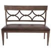 HGTV Home Woodlands Upholstered Bench