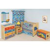 <strong>Room Magic</strong> Boys Like Trucks 2-in-1 Convertible Crib Set