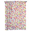 Room Magic Heart Throb Cotton Rod Pocket Curtain Panels (Set of 2)