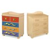 Little Lizards 5 Drawer Chest