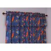 Star Rocket Cotton Rod Pocket Curtain Panel