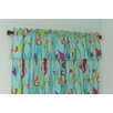 Tropical Seas Cotton Curtain Valance