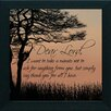 Artistic Reflections 'Dear Lord' Framed Graphic Art