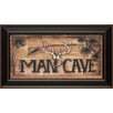 Artistic Reflections Man Cave Framed Graphic Art
