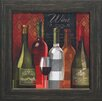 Artistic Reflections The Wine List I Framed Graphic Art