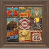 Artistic Reflections Southwest Collage Framed Graphic Art