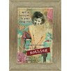 Artistic Reflections 'I Smile Because I'm Your Daughter' Framed Graphic Art