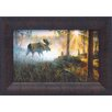 <strong>Artistic Reflections</strong> Walk in the Mist Framed Painting Print