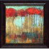 Artistic Reflections Amongst Friends I Framed Painting Print