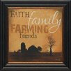 <strong>Faith Family Farming Framed Graphic Art</strong> by Artistic Reflections