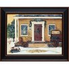 <strong>Artistic Reflections</strong> New England Winter Day Framed Painting Print