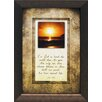 Artistic Reflections For God so loved the world that He gave His only son Framed Graphic Art