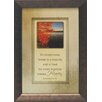 Artistic Reflections To everything there is a season Framed Graphic Art