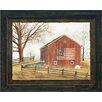 Artistic Reflections Flag Barn Framed Painting Print
