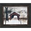 Artistic Reflections To Grandmother's House Framed Painting Print