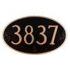 Montague Metal Products Inc. Mini Oval Address Plaque
