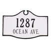 Montague Metal Products Inc. Colonial Standard Address Plaque