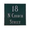 Montague Metal Products Inc. Classic Standard Square Address Plaque