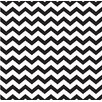 <strong>Forest Creations</strong> Canvas/Magnet Zig-Zag Framed Wall Art in Black