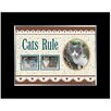 American Coin Treasures Cats Rule Picture Frame