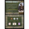 <strong>World War I Coin and Stamp Collection Wall Framed Memorabilia</strong> by American Coin Treasures