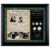 <strong>American Coin Treasures</strong> New York Times JFK Assassination Framed Memorabilia