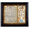 <strong>American Coin Treasures</strong> New York Times Battle of Gettysburg Framed Coin and Stamp Framed Memorabilia