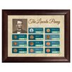 <strong>American Coin Treasures</strong> The Lincoln Penny Historical Chronological Highlight Framed Memorabilia