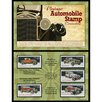American Coin Treasures Vintage Automobile Stamp Framed Memorabilia