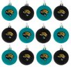 <strong>Forever Collectibles</strong> NFL Plastic Ball Ornament (Set of 12)