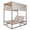 Panama Jack Outdoor Island Breeze Canopy Daybed