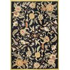 James Bond Alliyah New Black Area Rug