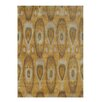 James Bond Alliyah Tobacco Brown Ikat Area Rug